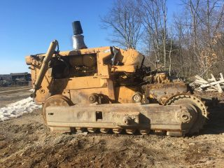 1977 International Td25c Dozer Parts Blade+track Included photo