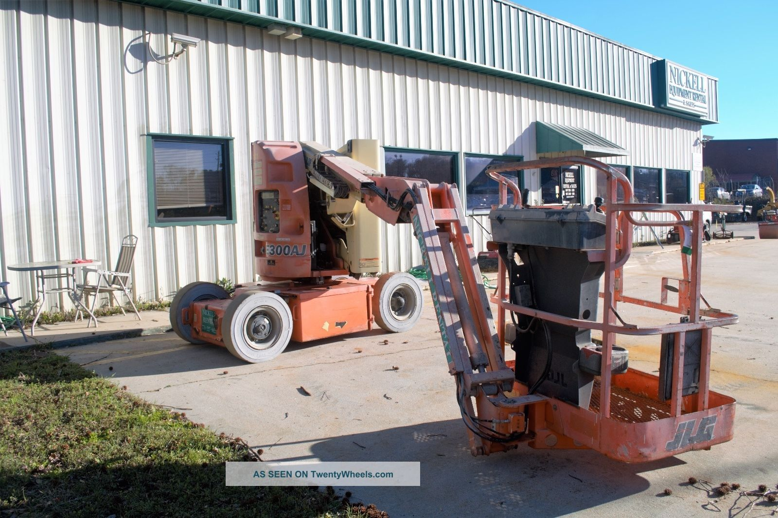 Jlg E300j Electric Knuckle Boom Lift Scissor & Boom Lifts photo