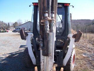 Tractor Loader Backhoe/bobcat B 300 photo