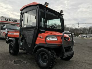 Kubota Rtv900 4x4 Diesel Heated Hard Cab,  Defroster,  Fully Hydraulic Dump,  Signal photo