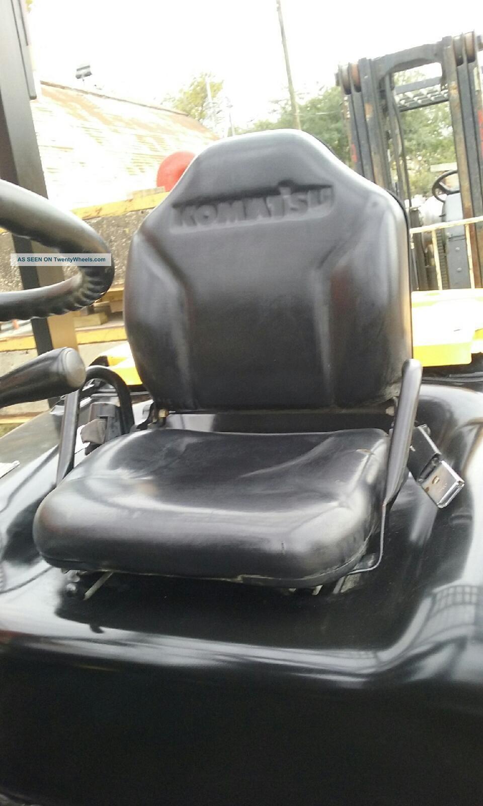 Komatsu Fd40zt - 8 Forklift Diesel Side Shift 8000lbs