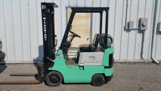 Mitsubishi Fgc15 Forklift photo