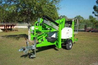 Nifty Tm42t Towable Boom Lift 48 ' 6