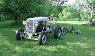 1933 Worthington Golf Course Tractor With 1929 Worthington Cutting Unit photo
