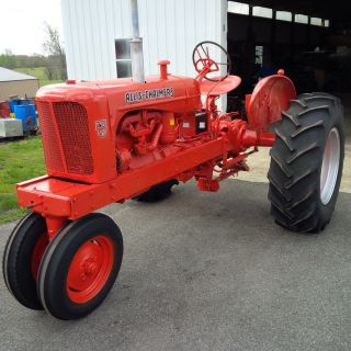 Allis Chalmers Wd 45 Tractor photo