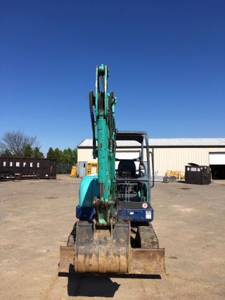 2010 Ihi Mini Excavator,  1200 Hours,  Rubber Tracks,  Back Fill Blade,  Plumbed photo