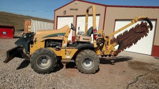2011 Vermeer Rtx 550 Riding Trencher 6 Way Blade 4 Wheel Steer photo