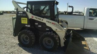 2013 Terex Tsv60 Cab Heat Only 700 Hrs Skid Steer photo