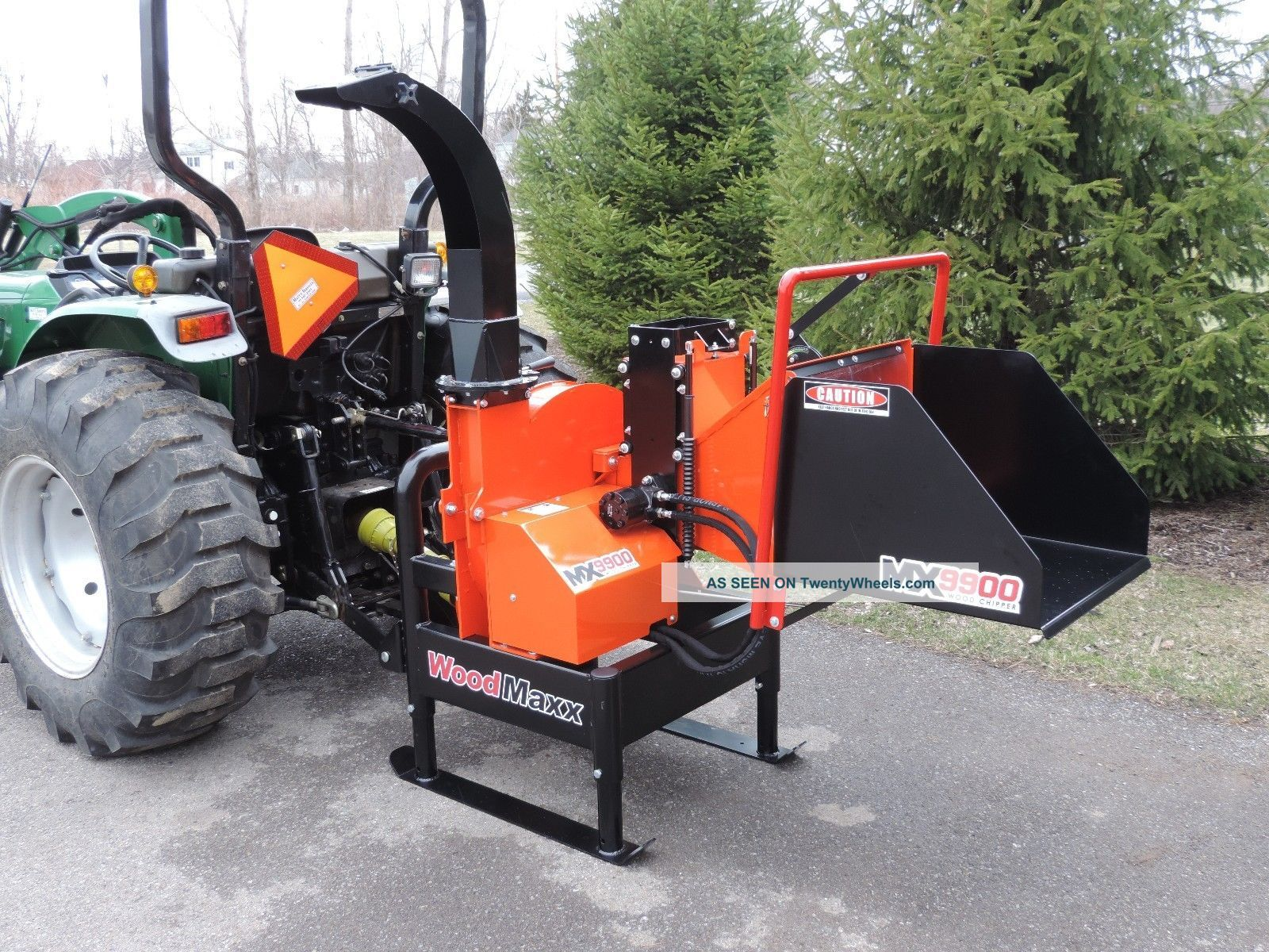 Woodmaxx Mx - 9900 Pto Wood Chipper W/hydro - Static In - Feed Wood Chippers & Stump Grinders photo