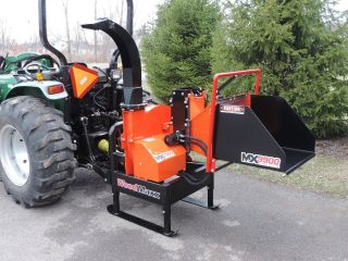 Woodmaxx Mx - 9900 Pto Wood Chipper W/hydro - Static In - Feed photo