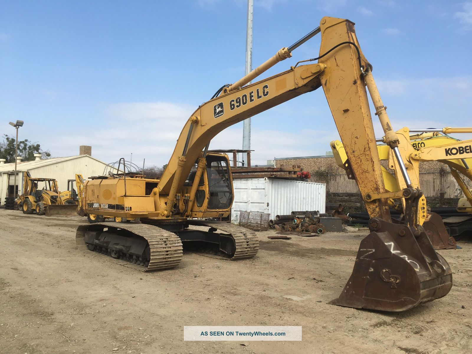 John Deere 690e Lc Excavator; Tx Machine Excavators photo