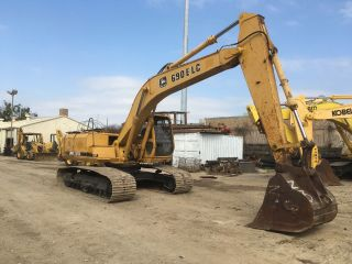 John Deere 690e Lc Excavator; Tx Machine photo