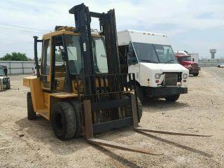 2000 Caterpillar Dp70 Forklift Dp 70 Loading Capacity 15,  000 Lb.  Forklift photo