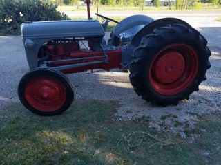 1940s Ford Ferguson Antique Fully Functional Tractor Massey Engine Low Reserve photo