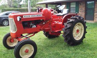 1958 Allis Chalmers Tractor Power Steering (restored) photo