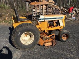 International Cub Lo Boy Tractor With 59