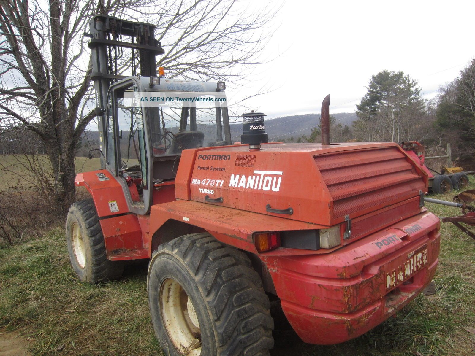 Manitou Ma Forklifts Lgw