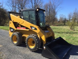 2011 Caterpillar 253b3 Skid Steer Loader Enclosed Cab 2 Speed Cheap photo