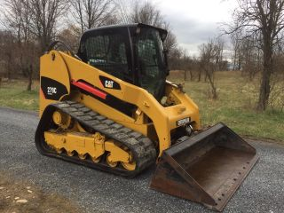 2012 Caterpillar 279c Track Compact Track Skid Steer Loader,  Cat Low Cost Ship photo