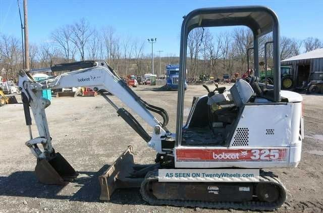 Bobcat 325 Mini Excavator,  Orops,  1400 Hours Reduced Reduced Excavators photo