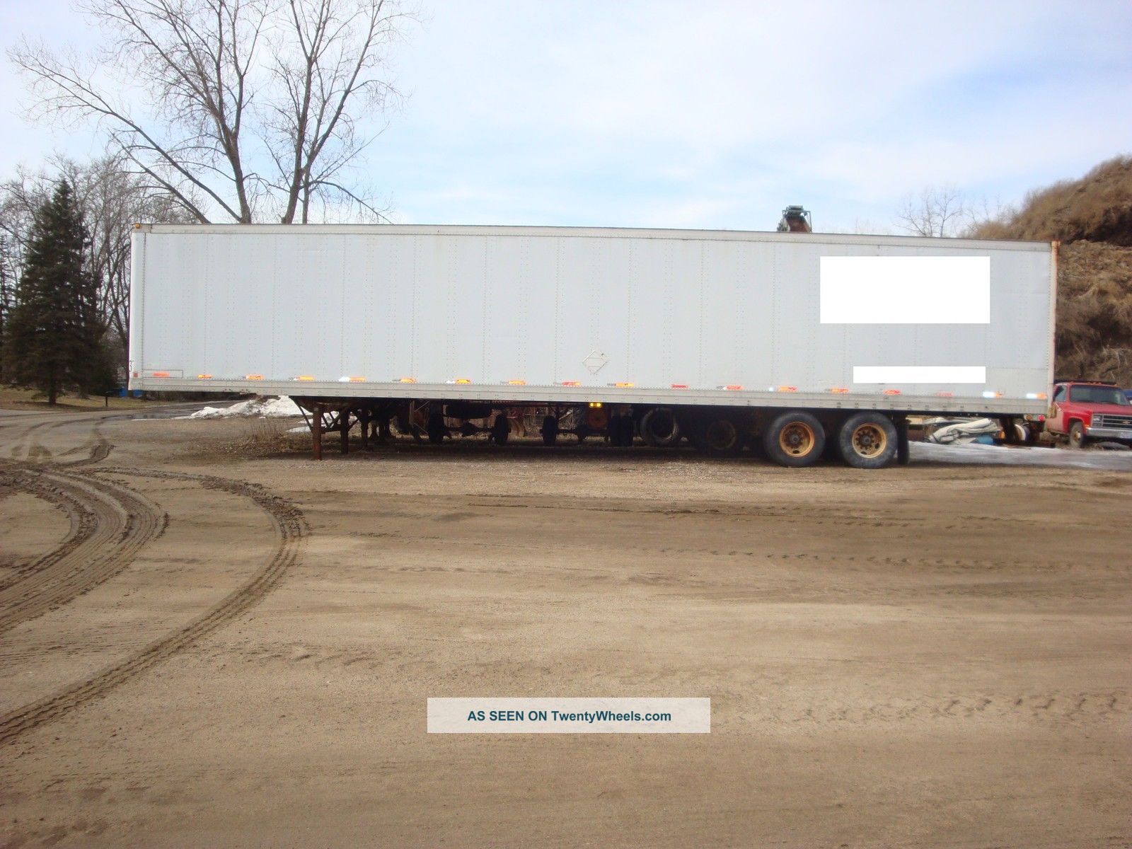 1998 Trail Mobile 53x102 Dry Van Trailers Trailers photo
