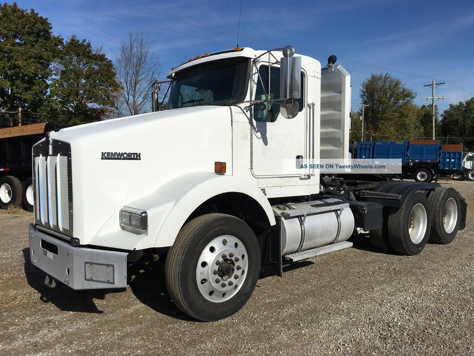 2008 Kenworth T800 - Unit 7424 Truck Tractors Utility Vehicles photo