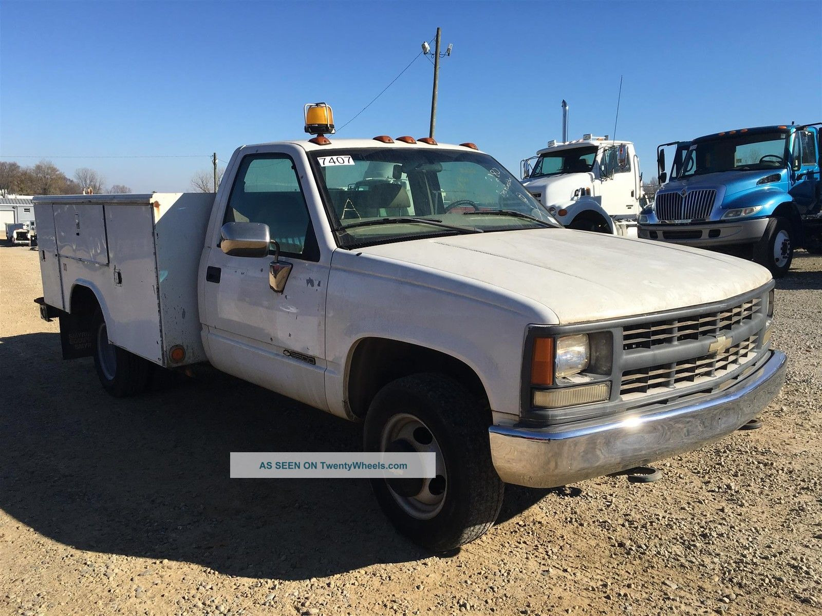1999 Chevrolet 3500 - Unit 7407 Truck Tractors Utility Vehicles photo