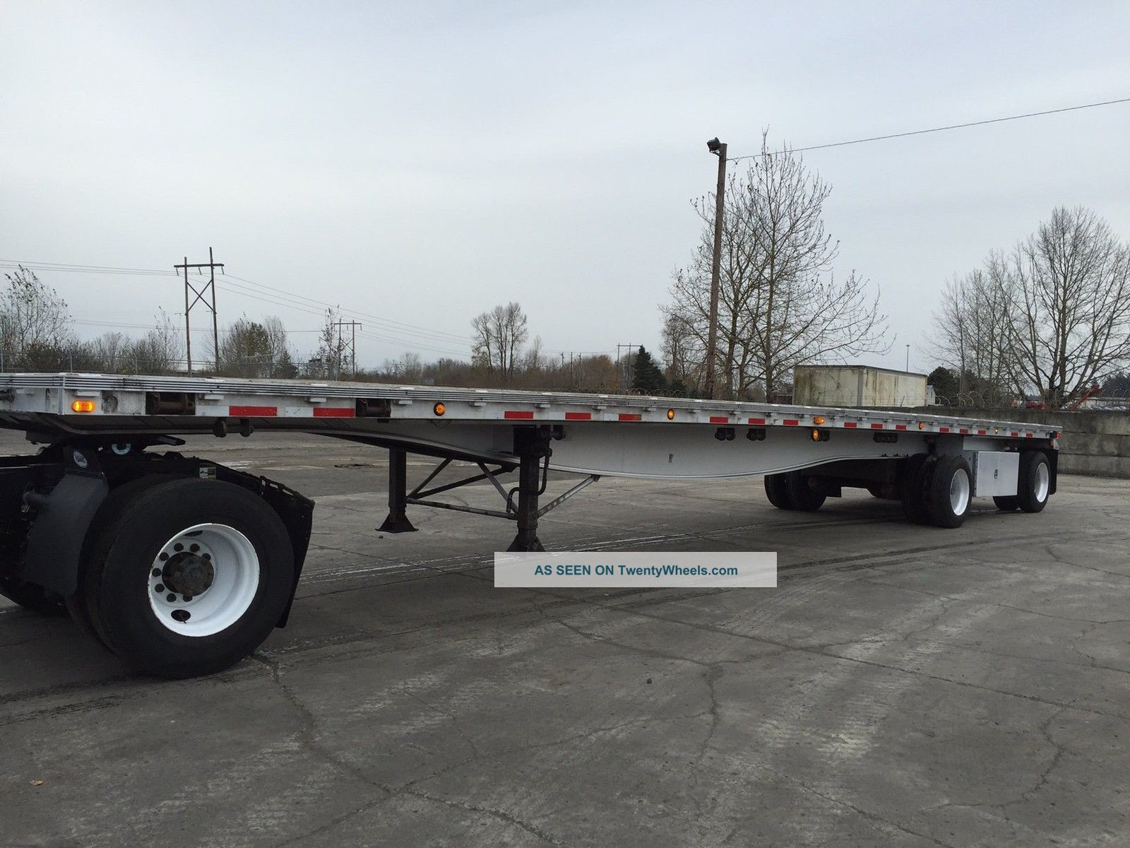 2001 Reinke All Aluminum 48 ' Flatbed Trailer Flatbed Trailers Trailers photo