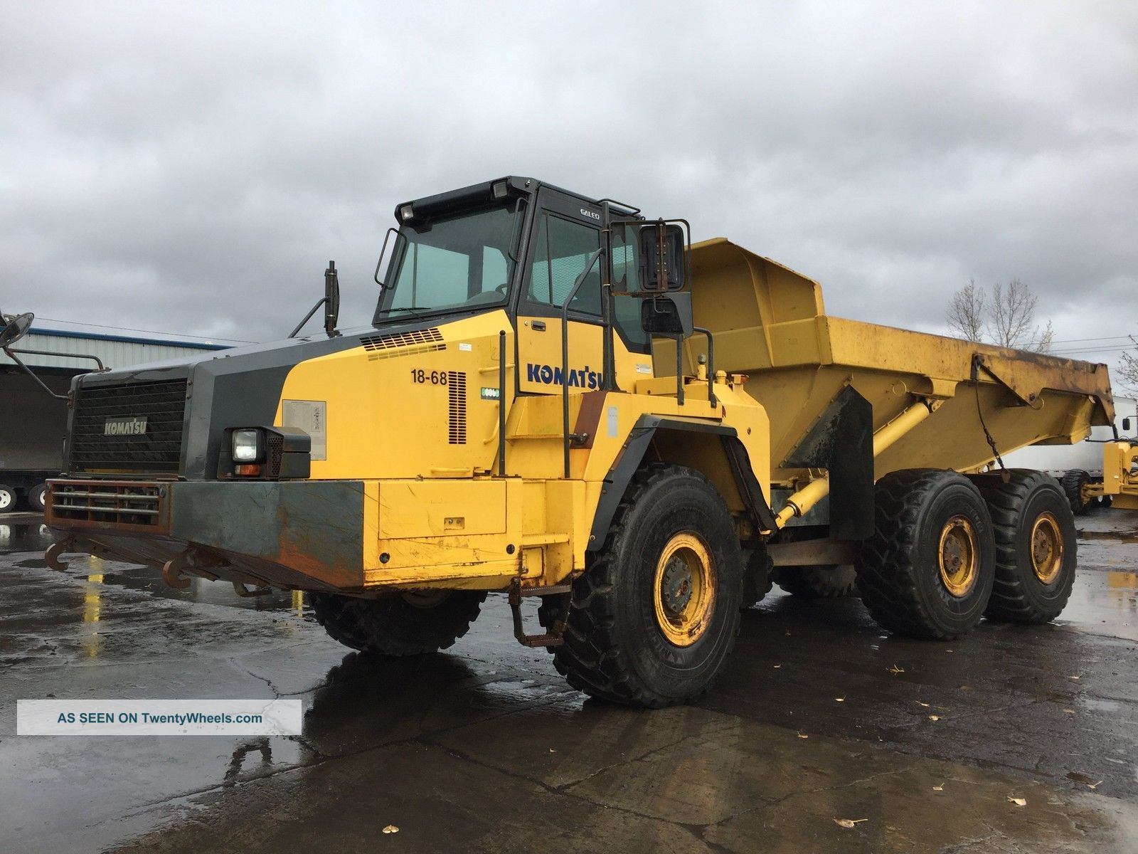 2008 Komatsu Hm350 - 2 6x6 Articulated Dump Truck Articulated Trucks Utility Vehicles photo