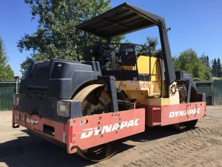 2002 Dynapac Cc722 Tandem Vibratory Roller Rollers photo