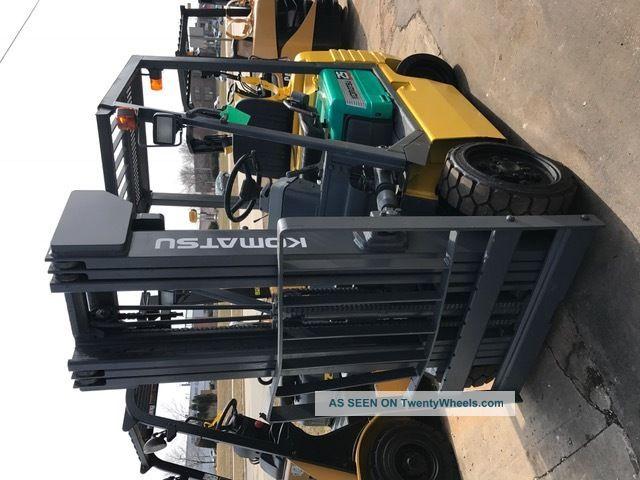 Komatsu Cushion Fg25st 5000lb Forklift Lift Truck Forklifts photo