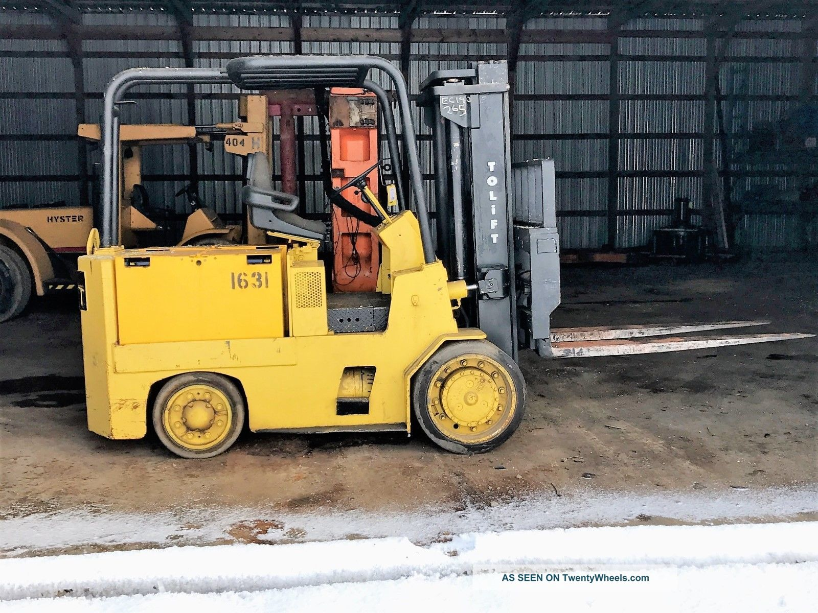 Forklift,  18,  000 Lbs Capacity,  Electric Autolift,  Hobart Charger,  Excellent Con Forklifts photo