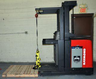 2005 Raymond Forklift Order Picker 3000lb Capacity 204
