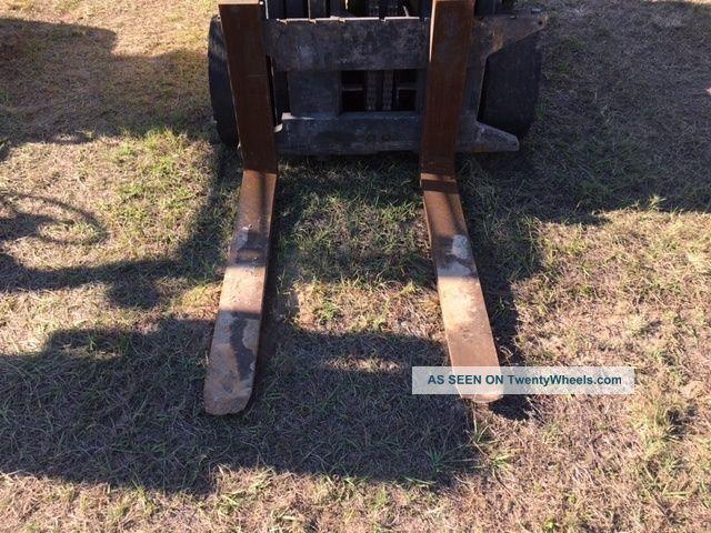 Hyster 8000lb Lp Forklift 42