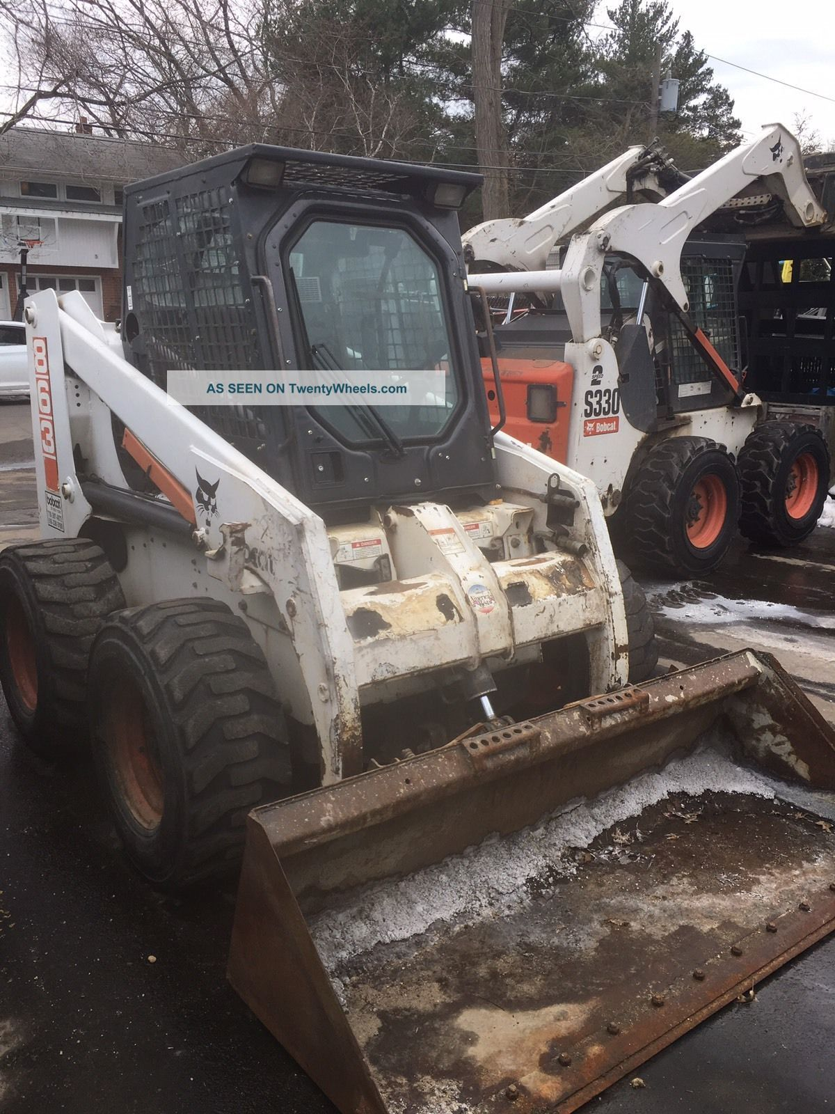 Bobcat 863 Skidsteer Skid Steer Loaders photo