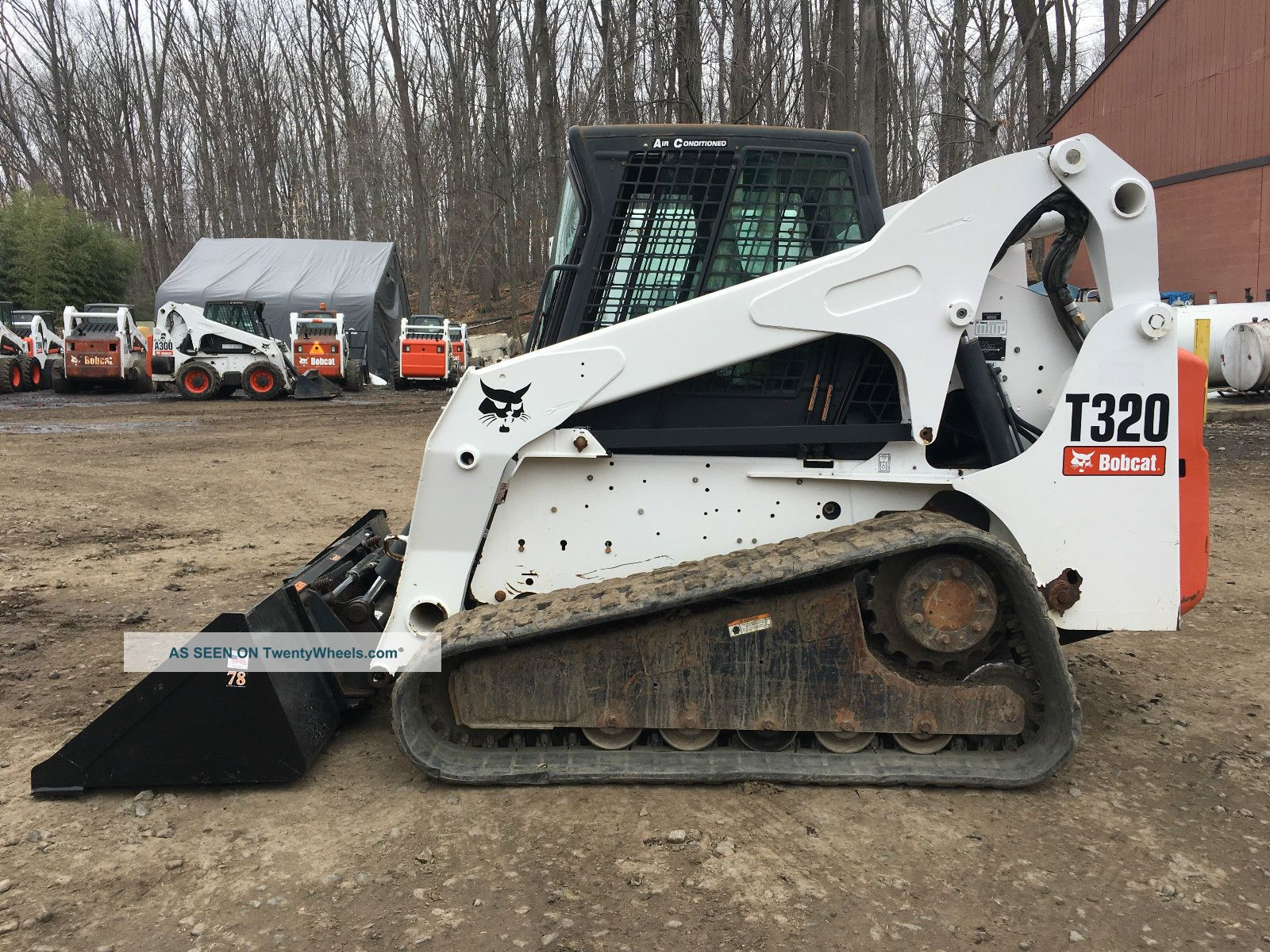 2008 Bobcat T320 Skid Steer Skid Steer Loaders photo