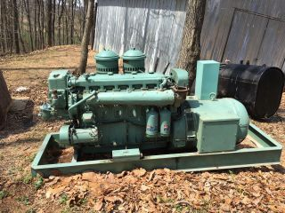 130kw Detroit Diesel Generator photo