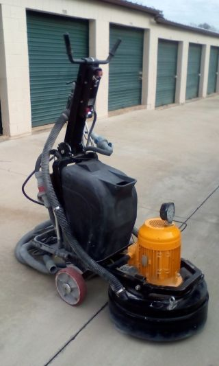 Concrete Grinder/polisher - Professional - Like photo
