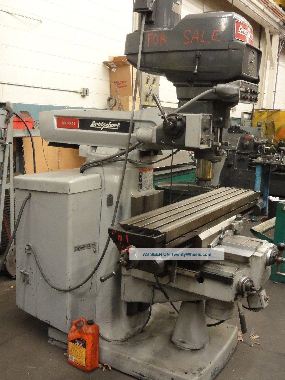 Bridgeport Series Ii 2 Mill Milling Machines photo
