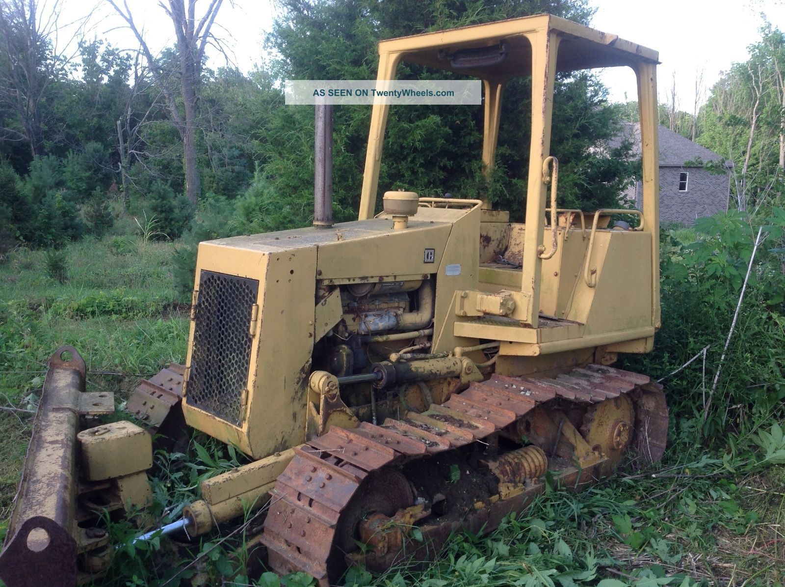Dozer Cat D3c With Blown Engine Crawler Dozers & Loaders photo