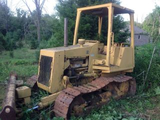 Dozer Cat D3c With Blown Engine photo