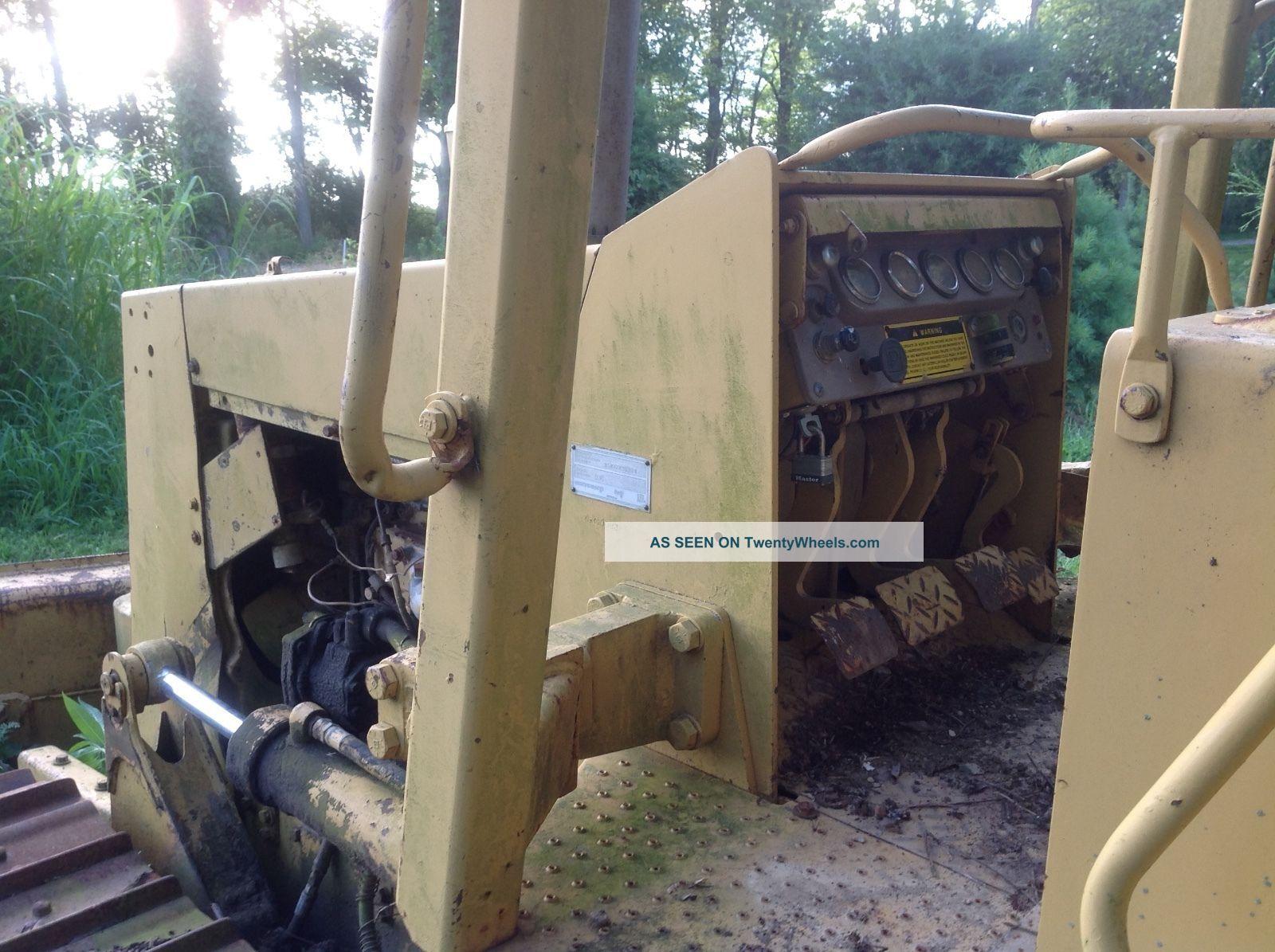 Dozer Cat D3c With Blown Engine