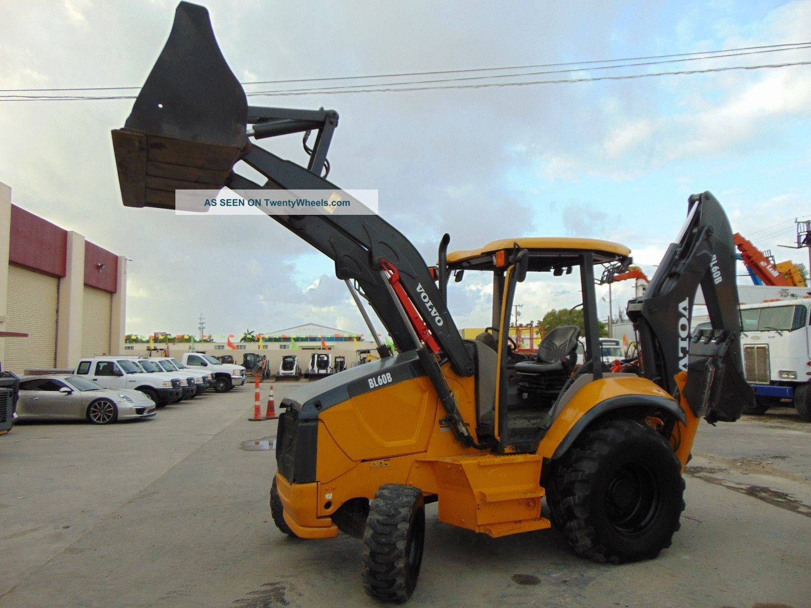 2012 Volvo Bl - 60 4wd Backhoe - Serviced And - 4x4 Backhoe Loaders photo