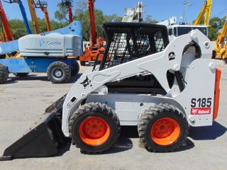 2012 Bobcat S - 185 Turbo Skid Wheel Loader - Only 864 Hours - Kubota Diesel photo