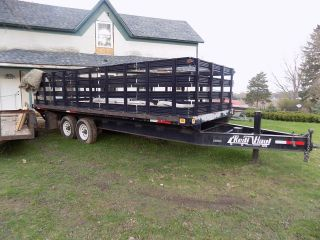 Knapheide/redi Haul Flat Bed Trailer With Locking Removable Sides, photo
