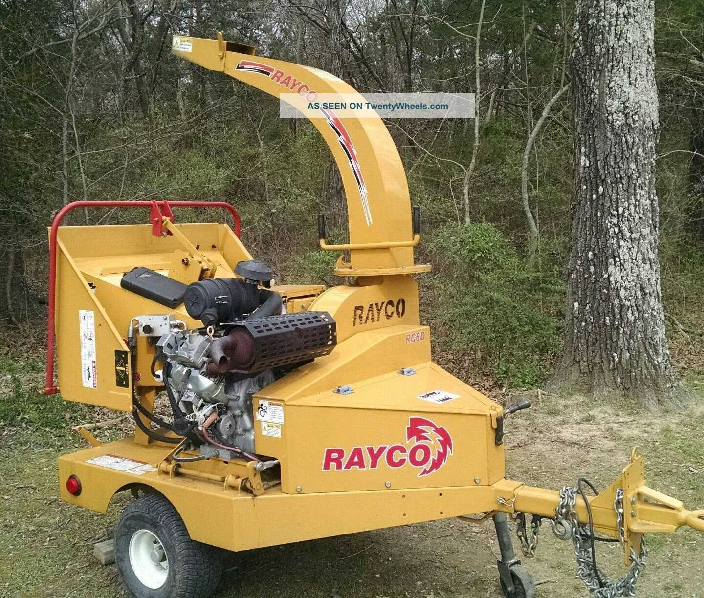 2011 Rayco Rc6d Brush Chipper Wood Chippers & Stump Grinders photo