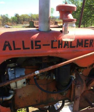 Allis Chalmers Tractor photo