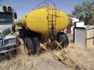 Fuel/non Potable Water /diesel Tanker Trailer photo