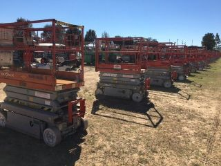 2006 Skyjack 3219 Scissor Lift 19 ' Deck Hgt,  25 ' Work Hgt,  Fully Operational Hd photo