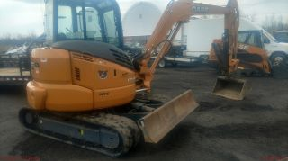 2015 Case Cx55 Mini Excavator Only 320 Hrs photo